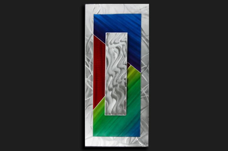 NY0006M - Metal Art by Nicholas Yust, Alternate Angle 1