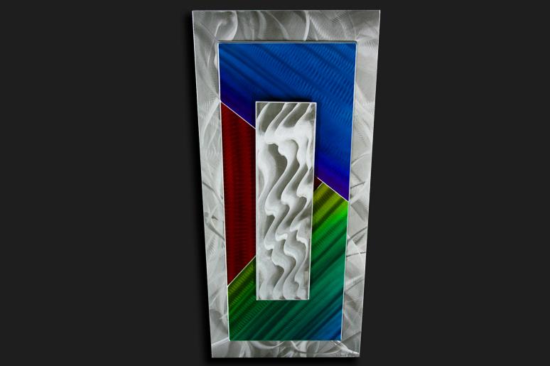 NY0006M - Metal Art by Nicholas Yust, Alternate Angle 3