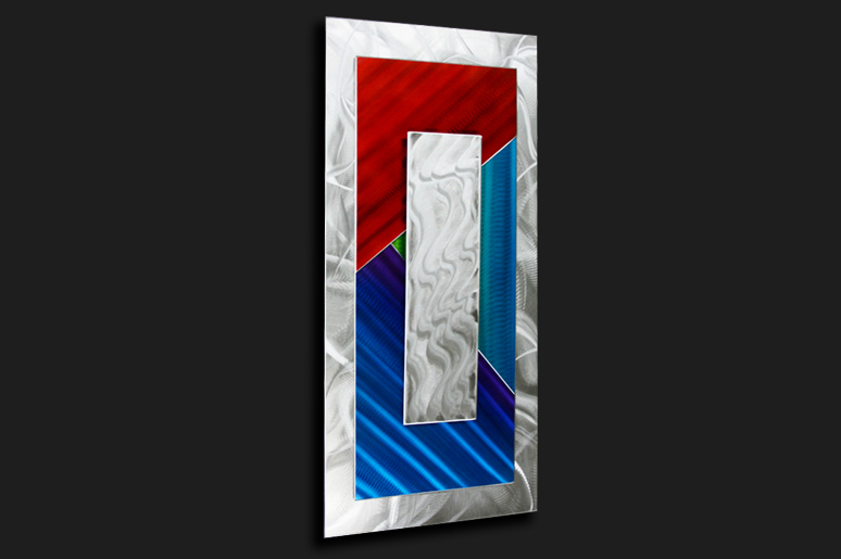 NY0007M - Metal Art by Nicholas Yust, Alternate Angle 2