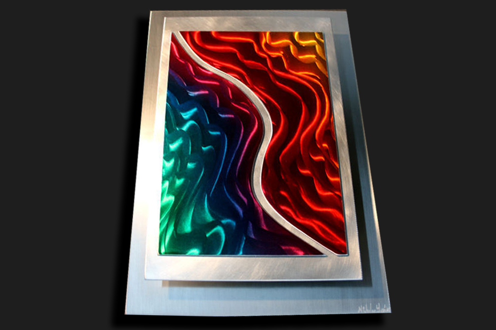 NY0016M - Metal Art by Nicholas Yust, Alternate Angle 2