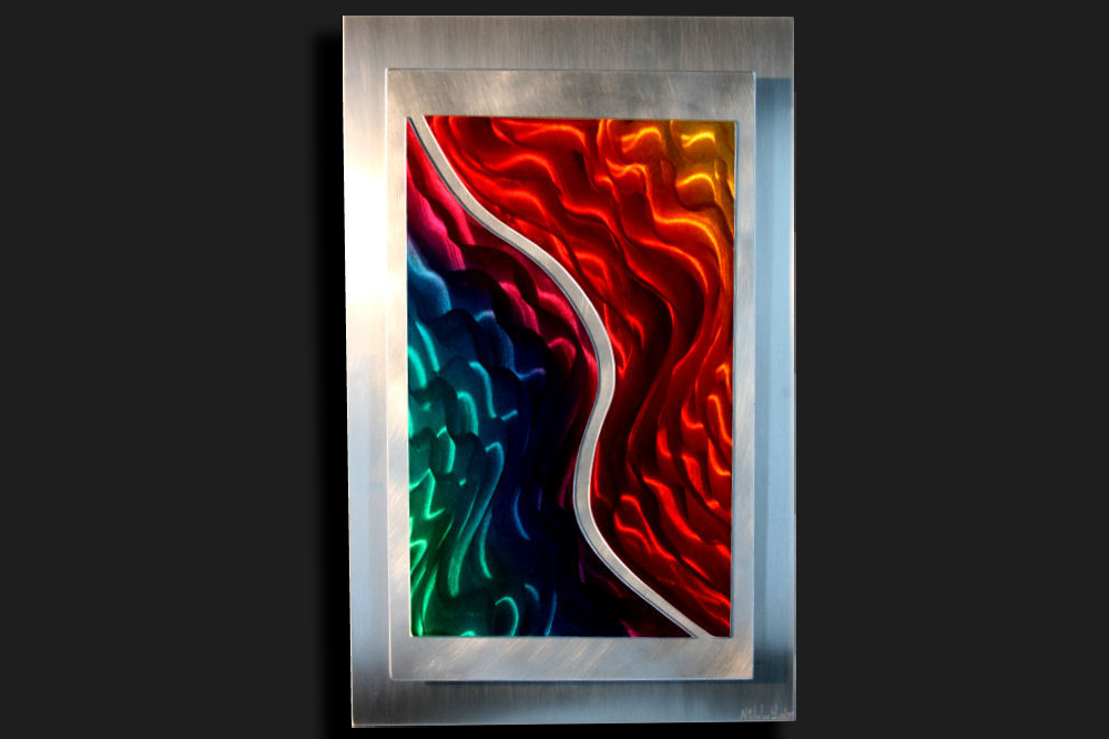 NY0016M - Metal Art by Nicholas Yust, Alternate Angle 3