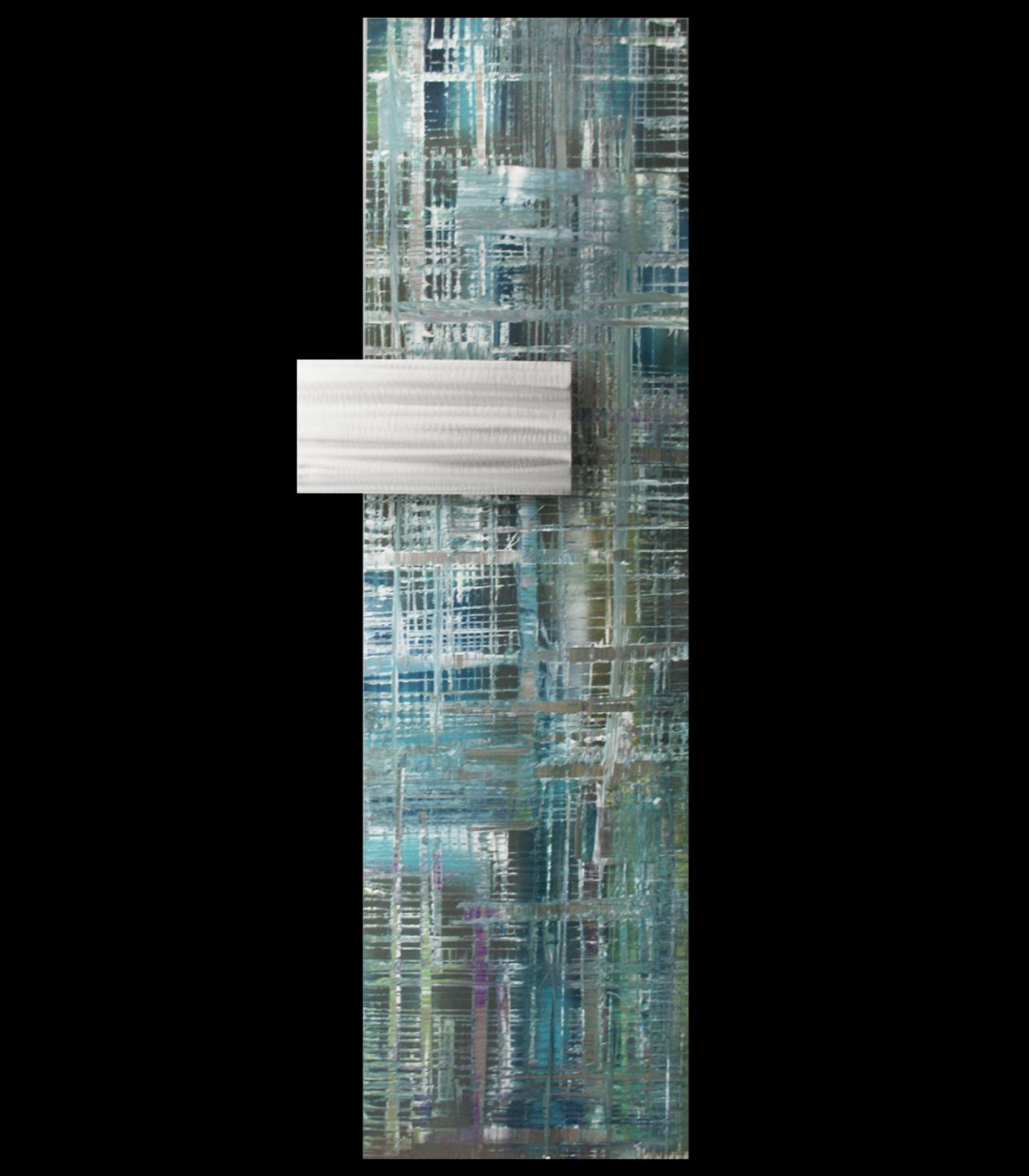 APORIA - Abstract Metal Painting by Nicholas Yust