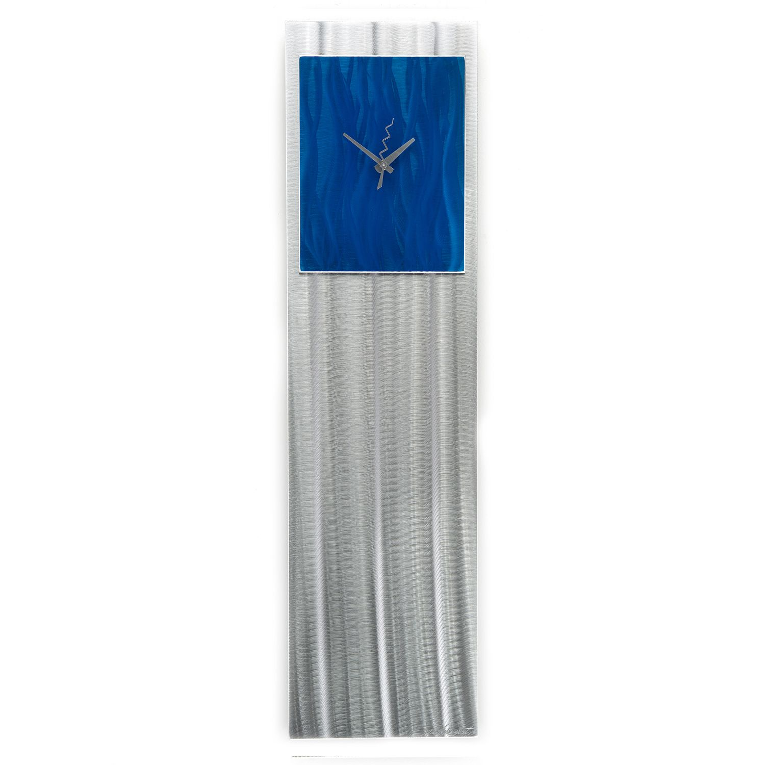 BLUE VIBE CLOCK - Contemporary Decor by Nicholas Yust