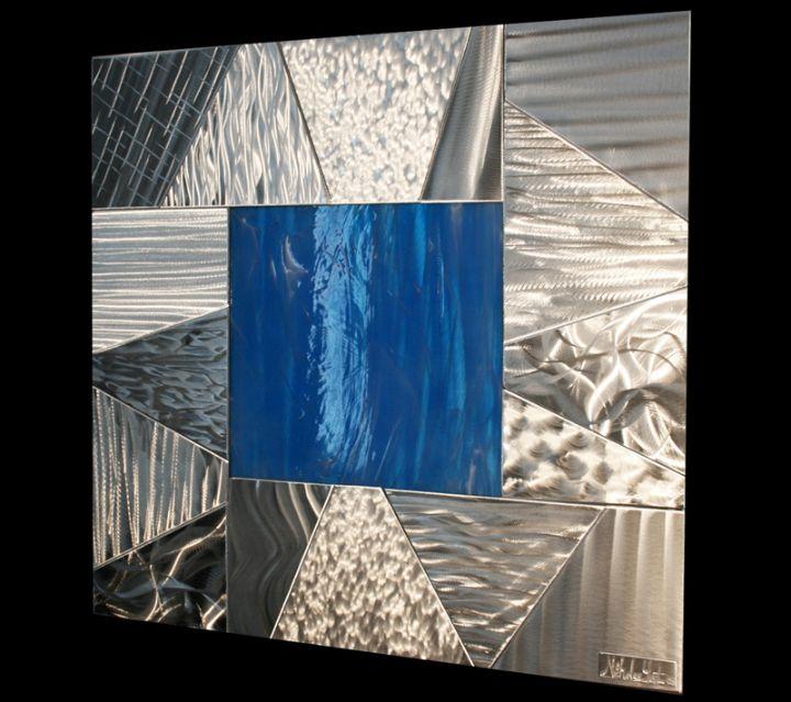 BRECCIA - Original Metal Painting by Nicholas Yust