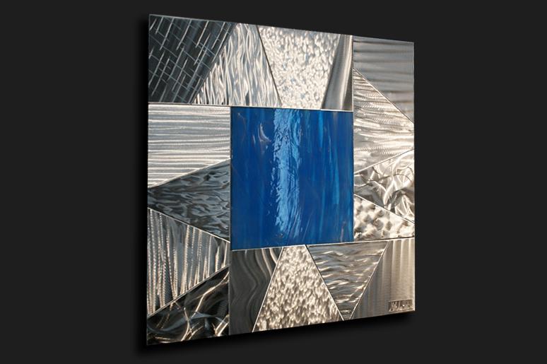 NY0052M - Metal Art by Nicholas Yust, Alternate Angle 1