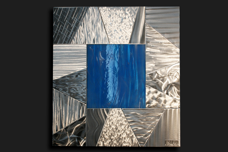 NY0052M - Metal Art by Nicholas Yust, Alternate Angle 3