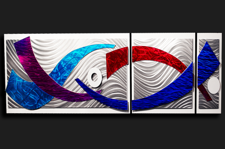 NY0062M - Metal Art by Nicholas Yust, Alternate Angle 3