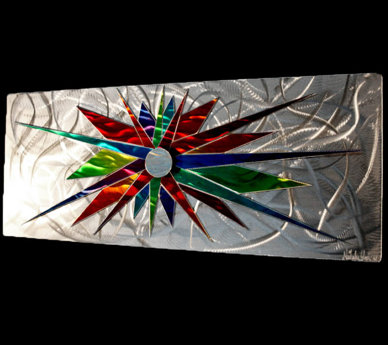 COSMONATION - Abstract Metal Art by Nicholas Yust