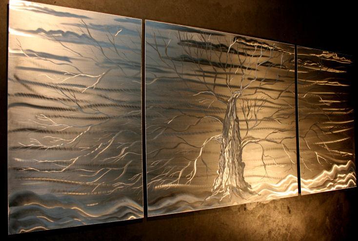 NY0108M - Metal Art by Nicholas Yust, Alternate Angle 1