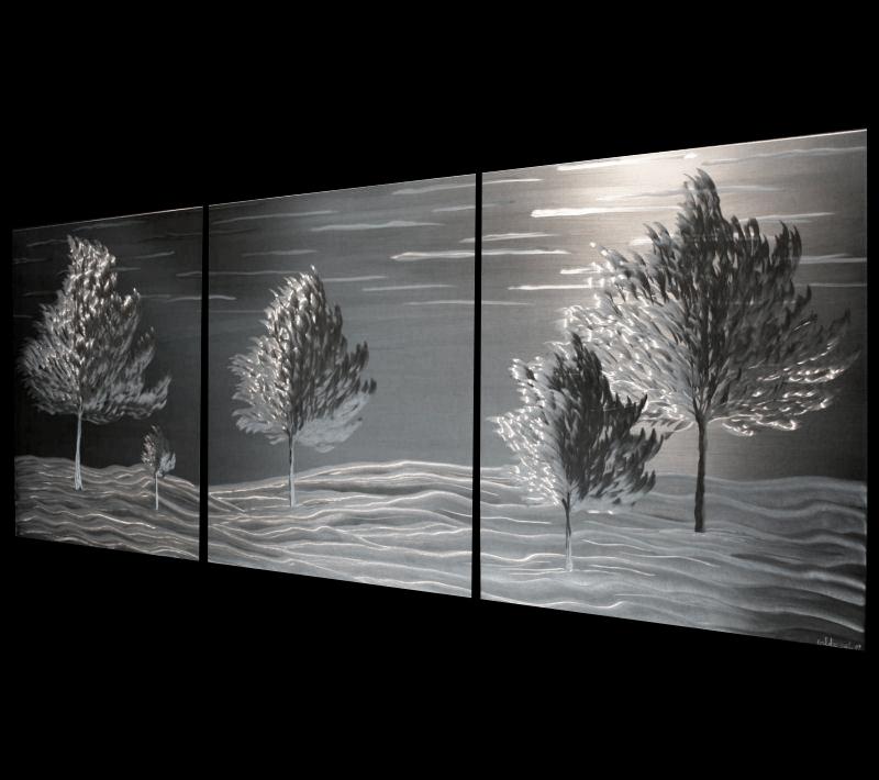 ENRICHED SEASONS - Metal Landscape Art by Nicholas Yust