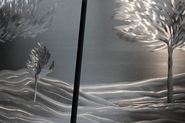 NY0133M - Metal Art by Nicholas Yust, Alternate Angle 4