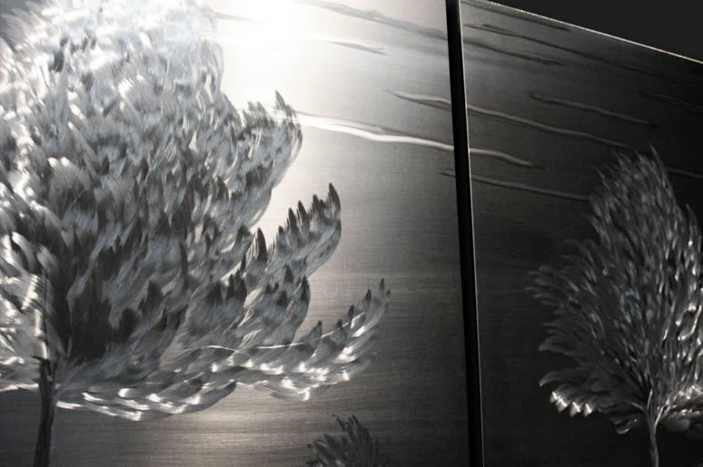 NY0133M - Metal Art by Nicholas Yust, Alternate Angle 5