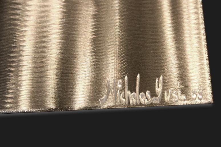 NY0191M - Metal Art by Nicholas Yust, Alternate Angle 4