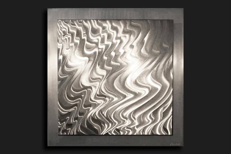 NY0248M - Metal Art by Nicholas Yust, Alternate Angle 2