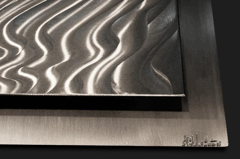 NY0248M - Metal Art by Nicholas Yust, Alternate Angle 3