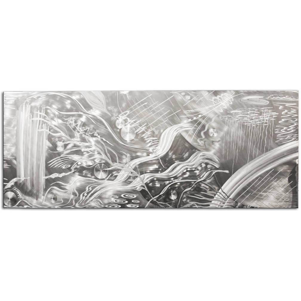 OCEANA - Hand-Ground Metal Art by Nicholas Yust