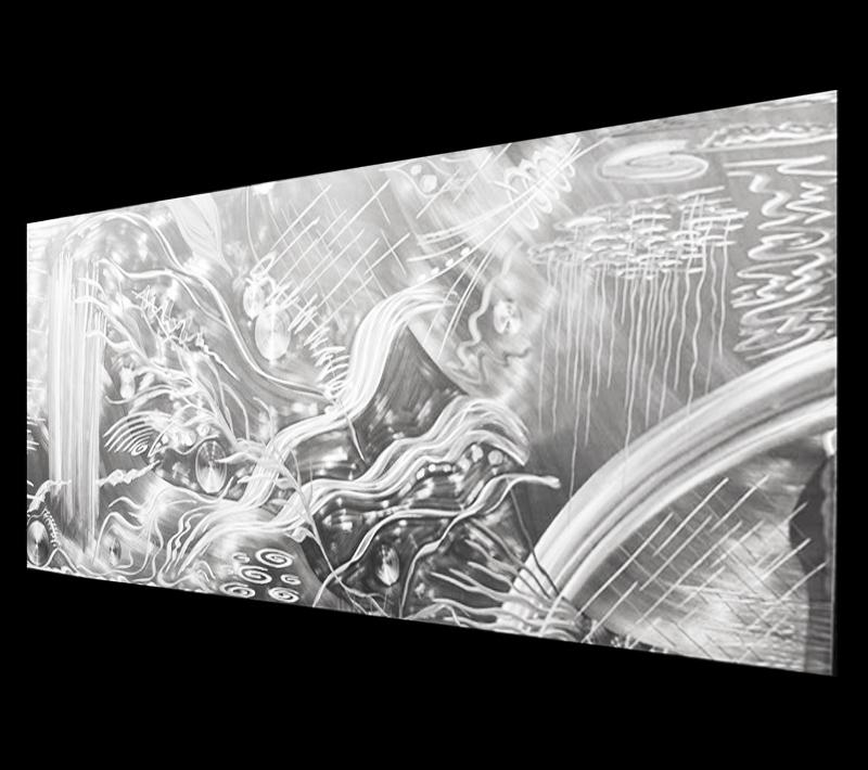 NY0272M - Metal Art by Nicholas Yust, Alternate Angle 1