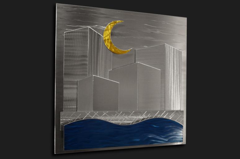 NY0293M - Metal Art by Nicholas Yust, Alternate Angle 1