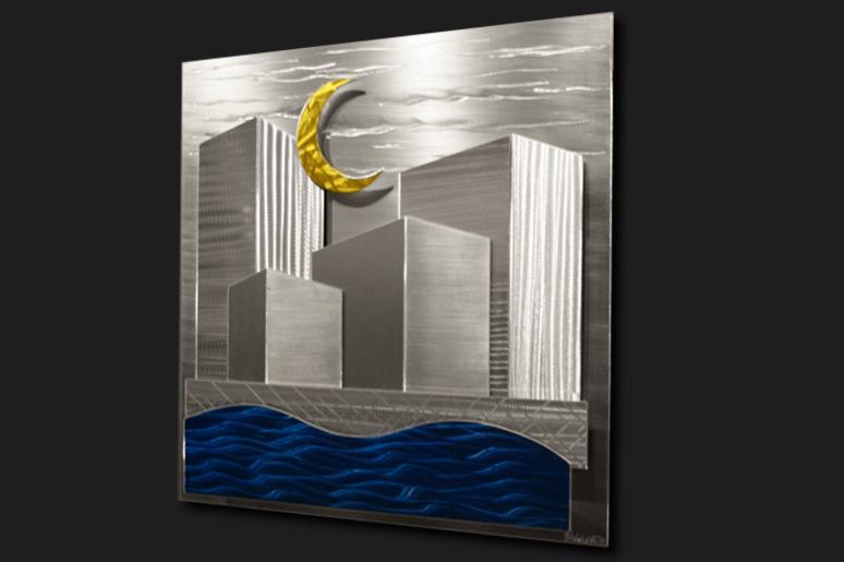 NY0293M - Metal Art by Nicholas Yust, Alternate Angle 2