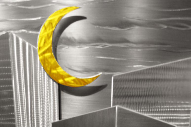 NY0293M - Metal Art by Nicholas Yust, Alternate Angle 3