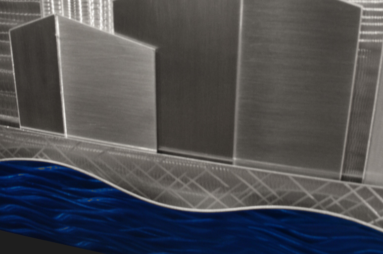 NY0293M - Metal Art by Nicholas Yust, Alternate Angle 4