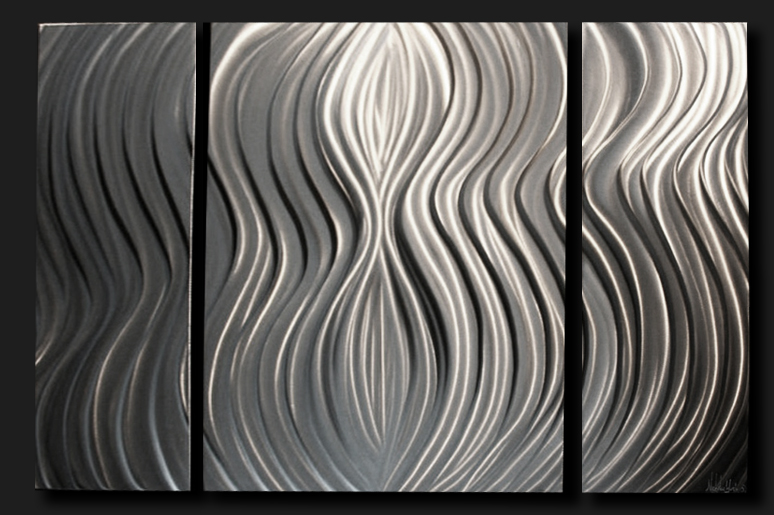 NY0300M - Metal Art by Nicholas Yust, Alternate Angle 1