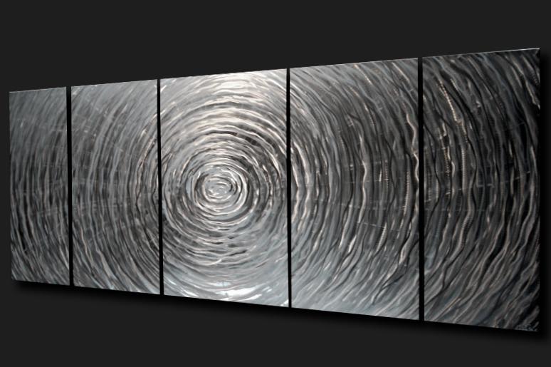 RESONANCE - Hand-Ground Metal Art by Nicholas Yust