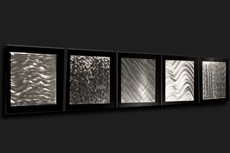 TEKTITES - Hand-Ground Metal Art by Nicholas Yust