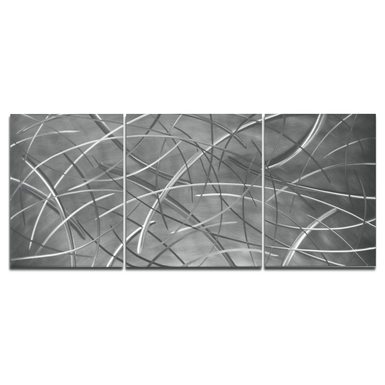 TENUOUS - Hand-Ground Metal Art by Nicholas Yust