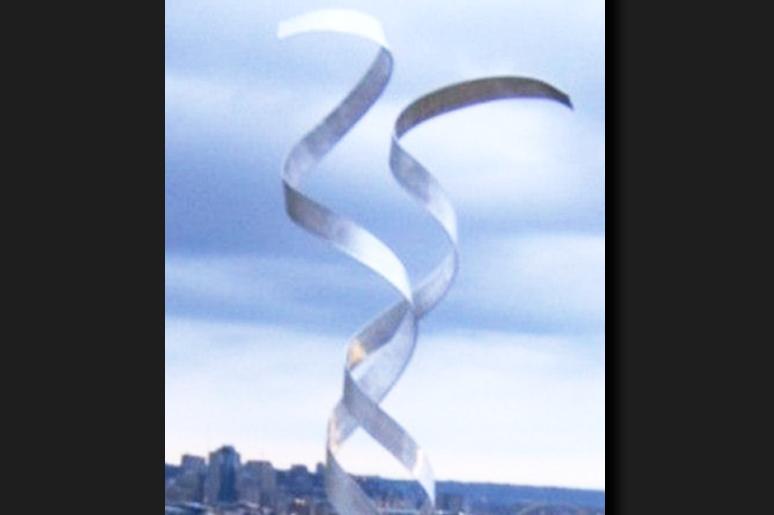 NY0425M - Metal Art by Nicholas Yust, Alternate Angle 1