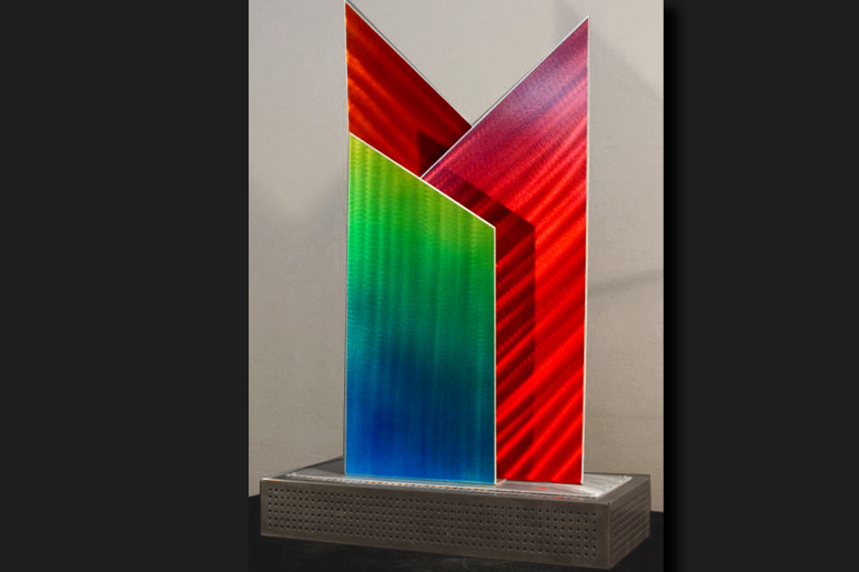 NY0429M - Metal Art by Nicholas Yust, Alternate Angle 2