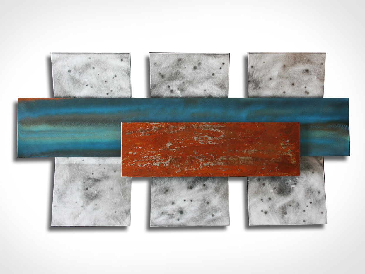 ABSTRACT RUSTED ART - Abstract Metal Art by Nicholas Yust