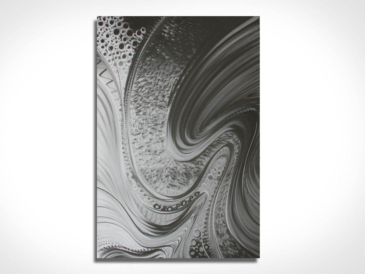 AMAZEMENT - Hand-Ground Metal Art by Nicholas Yust