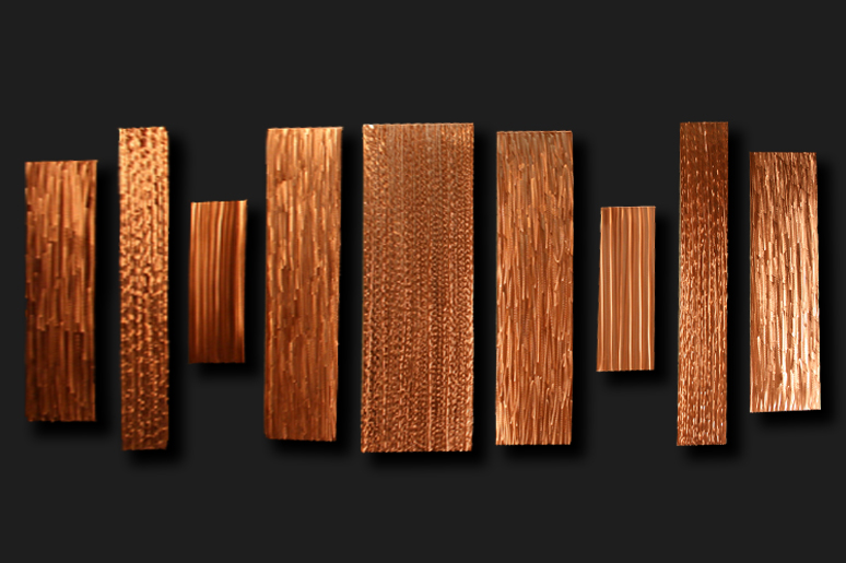 BARCODE - Copper Panels by Nicholas Yust