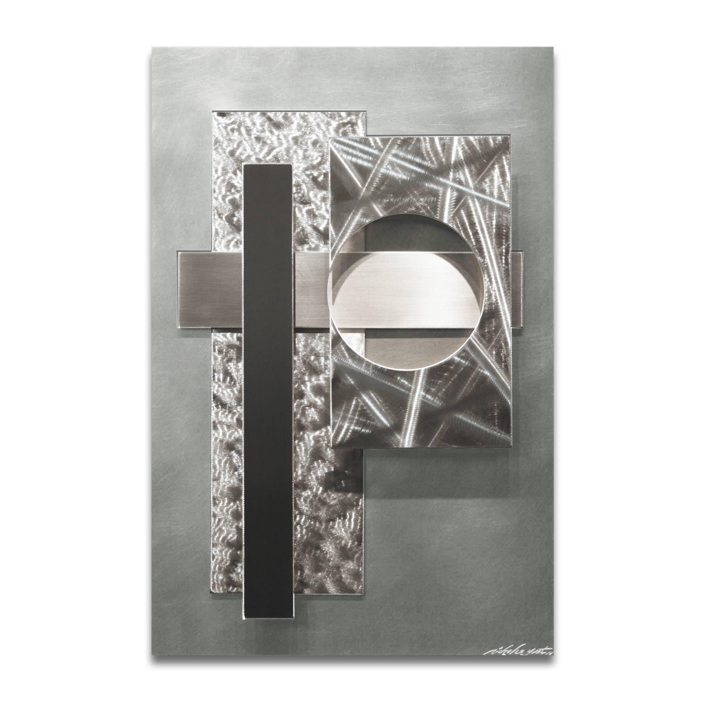 CALLISTO V2 - Abstract Metal Art by Nicholas Yust
