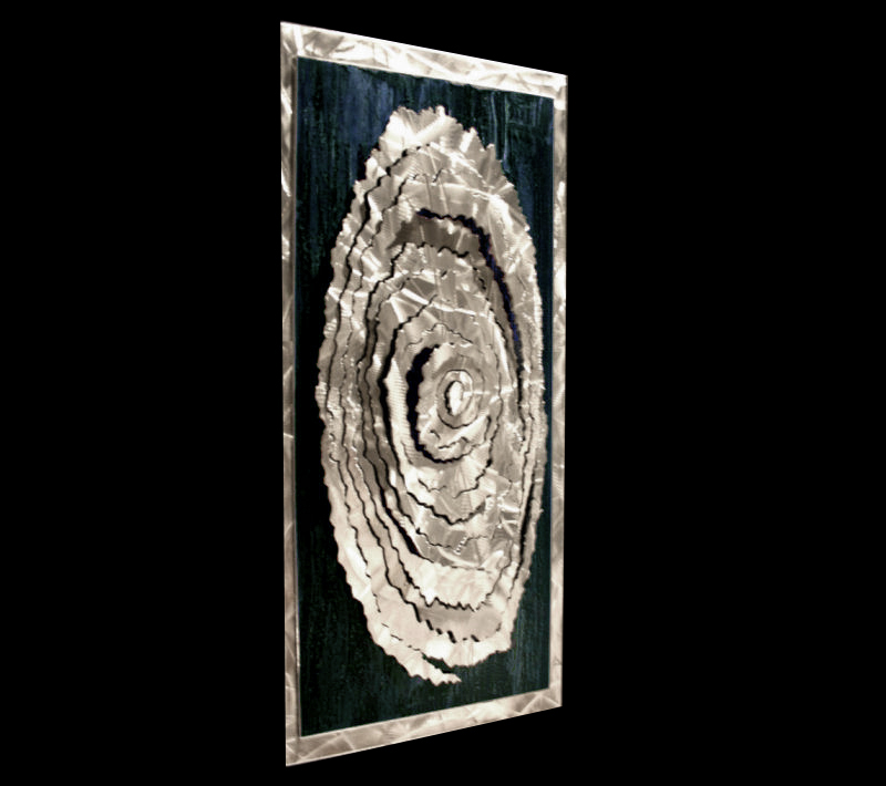 CONICAL FRACTURE - Abstract Metal Art by Nicholas Yust