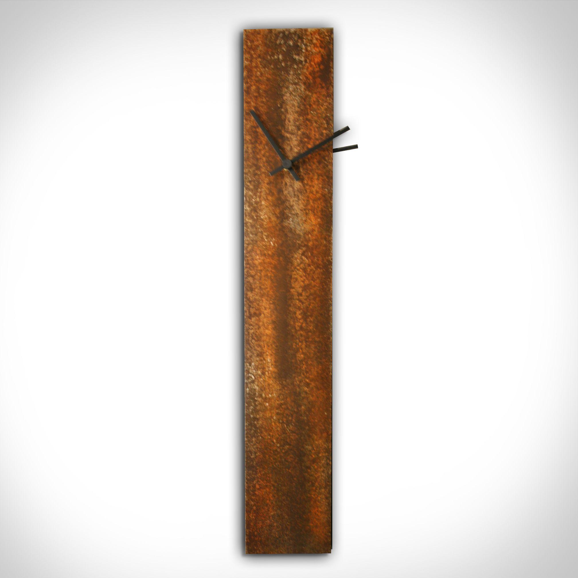 CORROSION ORANGE CLOCK - Contemporary Decor by Nicholas Yust