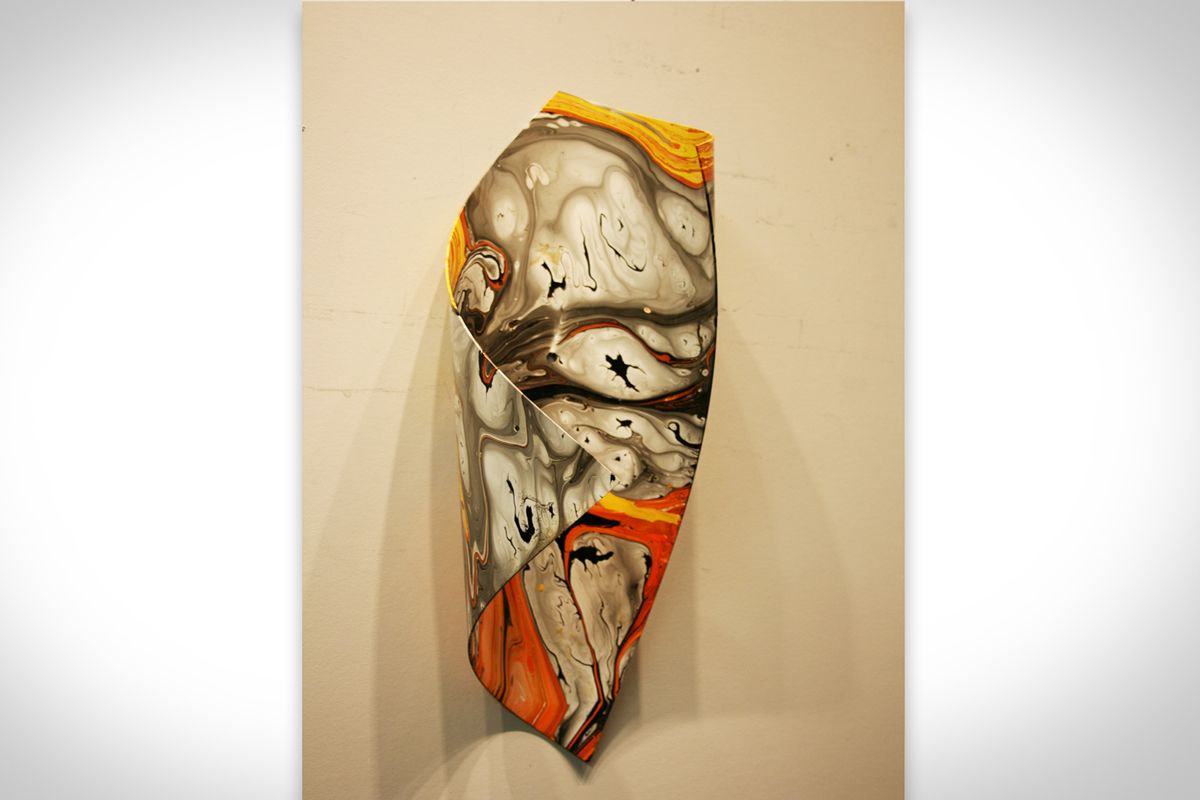 NY0523M - Metal Art by Nicholas Yust, Alternate Angle 2