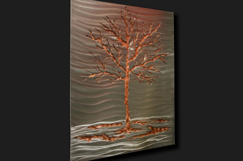 NY0550M - Metal Art by Nicholas Yust, Alternate Angle 1