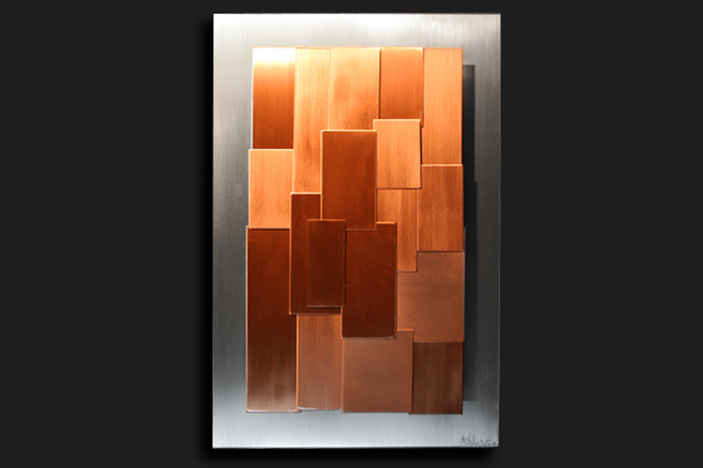 NY0569M - Metal Art by Nicholas Yust, Alternate Angle 2