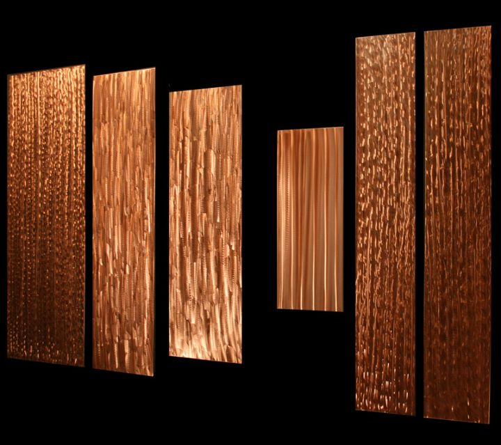 GRAVITY - Copper Panels by Nicholas Yust