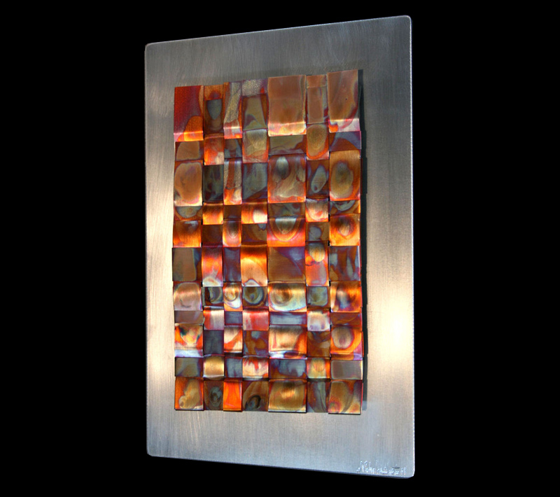 INFUSION - Torch-Colored Metal Art by Nicholas Yust