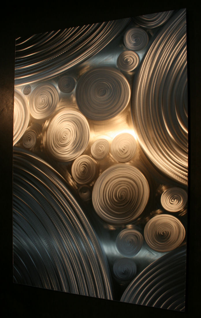 NY0594M - Metal Art by Nicholas Yust, Alternate Angle 2