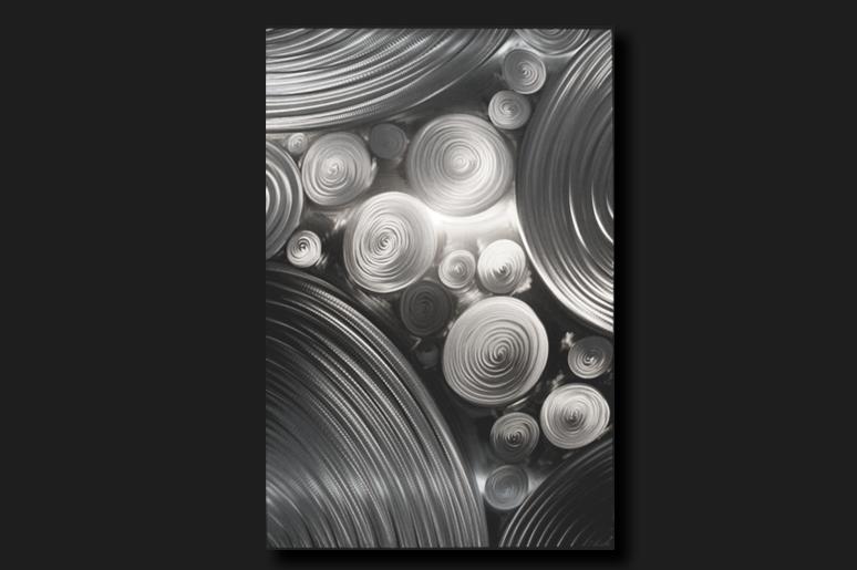 NY0594M - Metal Art by Nicholas Yust, Alternate Angle 4