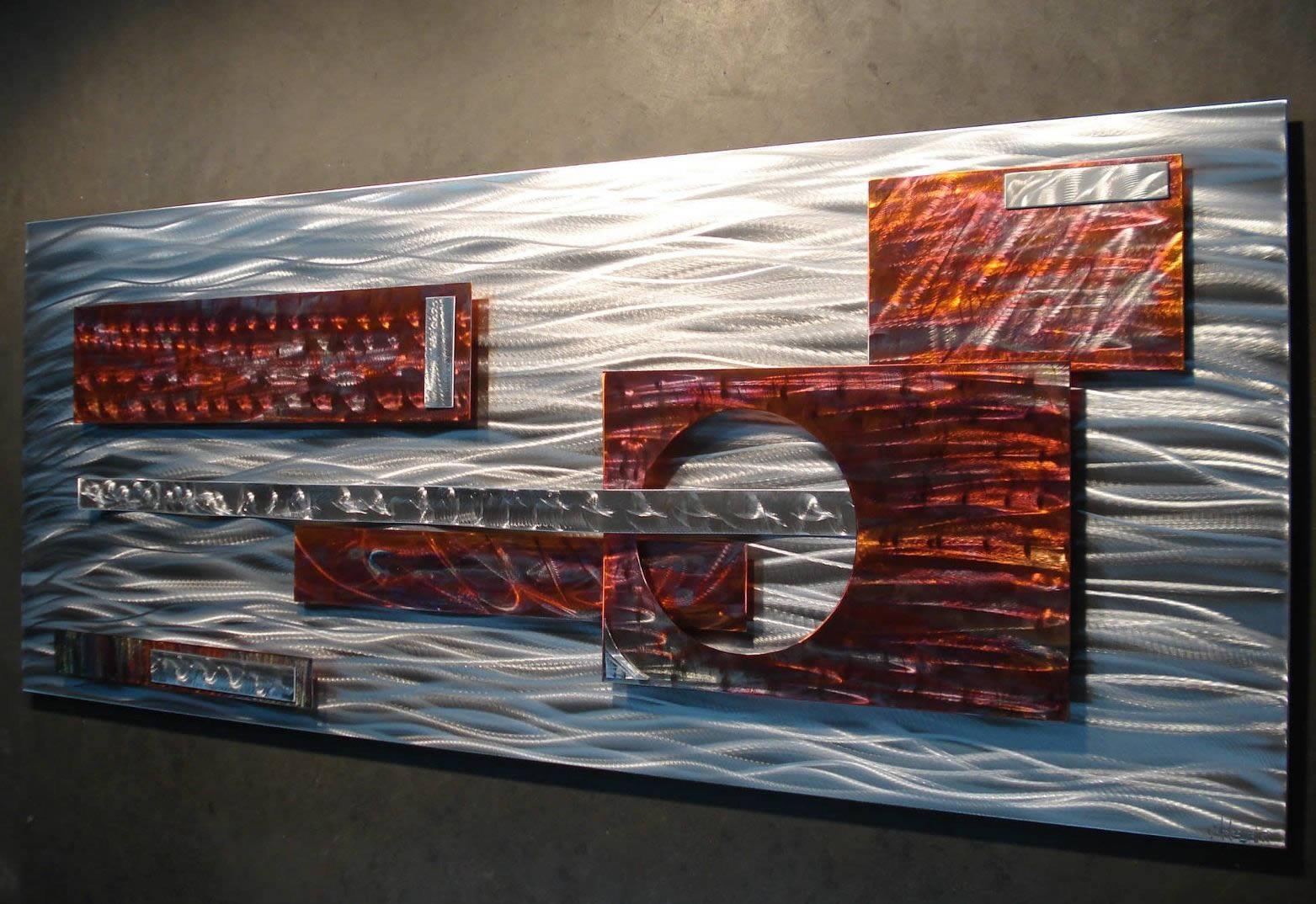 MACHISMO - Torched Copper Art by Nicholas Yust