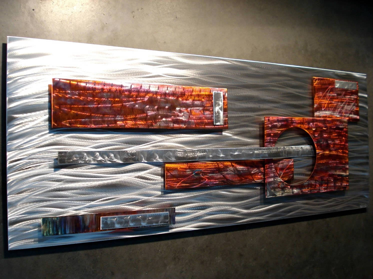 NY0619M - Metal Art by Nicholas Yust, Alternate Angle 1