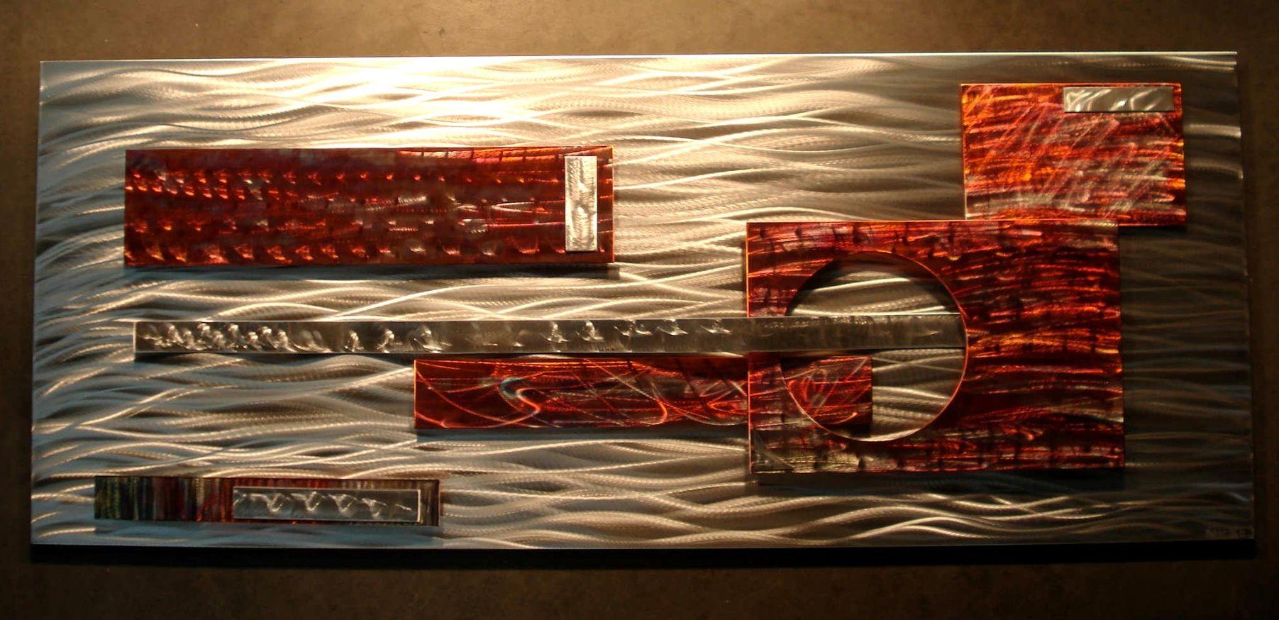 NY0619M - Metal Art by Nicholas Yust, Alternate Angle 3