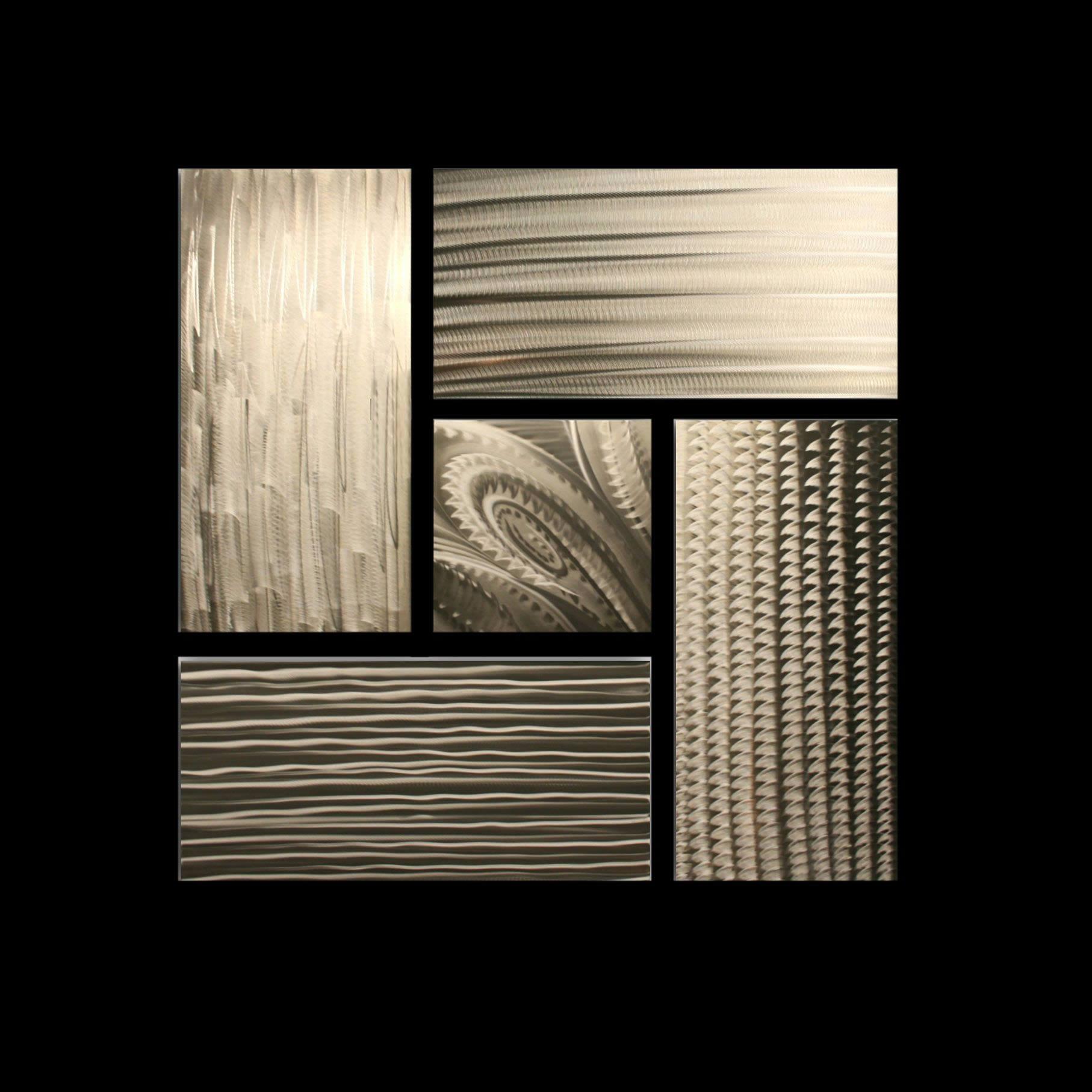 PATIENCE - Hand-Ground Metal Art by Nicholas Yust