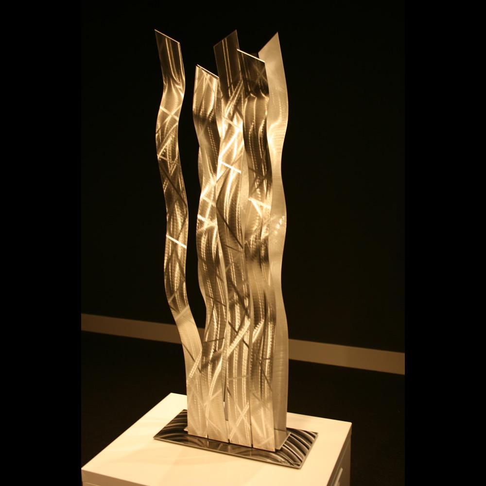 PLATINUM SAFARI - Silver Metal Sculpture by Nicholas Yust