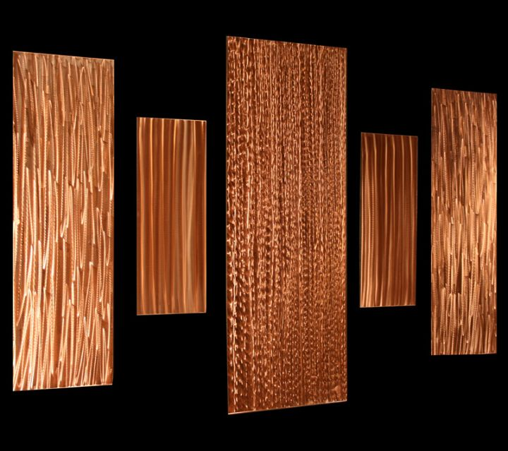 RECIPROCATION - Copper Wall Art by Nicholas Yust